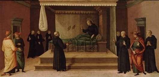 #santidelgiorno: San Nicola da Tolentino
