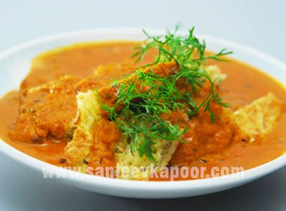Omelette Curry Recipe - Whenever there is leftover omelette, do make this wonderful curry.