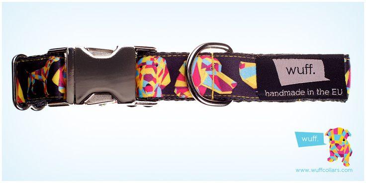 Wuff Vizsla Dog Collar Not only Hungarian Vizslas, Deutsche Kurzhaars, Bracco Italianos and Weimaraners but Pointers also look great in this WUFF collar. http://www.wuffcollars.com/en/item/Vizsla_Collar-111 Item Code: 111