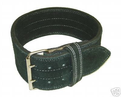 Belts 36155: Ader Leather Power Lifting Weight Belt- 4 Black (Small) Strength Training -> BUY IT NOW ONLY: $30.75 on eBay!