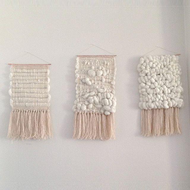 La folie des tissages muraux - Billie Blanket