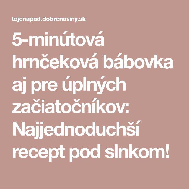 5-minútová hrnčeková bábovka aj pre úplných začiatočníkov: Najjednoduchší recept pod slnkom!