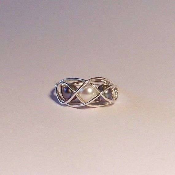 Lotus Cage Ring For Pearls