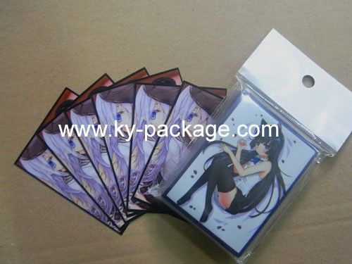 colorful plastic yugioh card sleeves with beautiful artwork