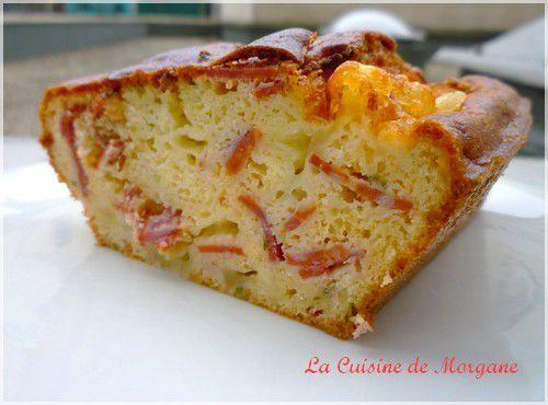 Recette Cake Sal Ef Bf Bd Chorizo Chevre
