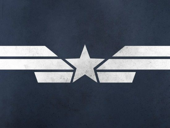 Minimalist Posters for Captain America Winter Soldier Movie