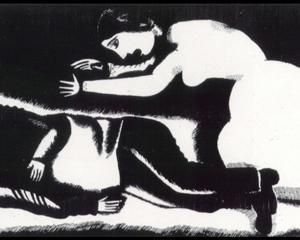 The Drunkard  - Marc Chagall - #MarcChagall  learn more on http://www.johanpersyn.com/category/humanity/art/marc-chagall/