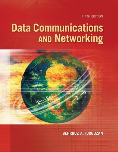 I'm selling Data Communications and Networking (5th Edition) by Behrouz Forouzan - $45.00 #onselz