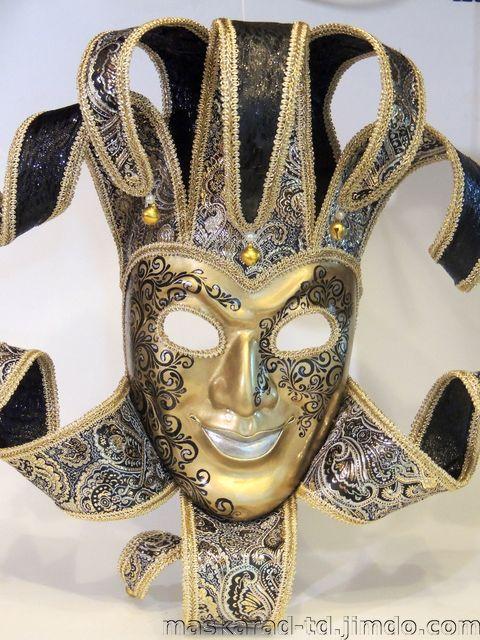 """Карнавальная маска - джокер """"Орландо"""" - Сайт maskarad-td!"""