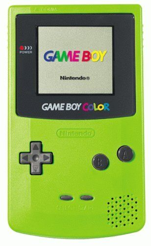 Gameboy color. I had a yellow one, but I wasn't cool enough to have the pikachu version.