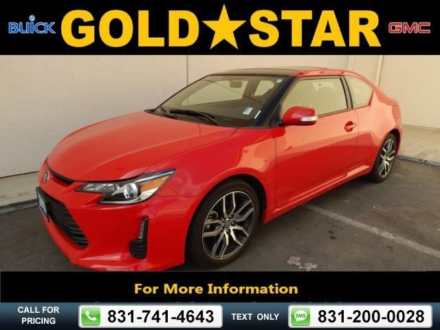 2014 Scion tC Hatchback Red $16,955 14300 miles 831-741-4643 Transmission: Manual  #Scion #tC #used #cars #GoldStarBuickGMC #Salinas #CA #tapcars