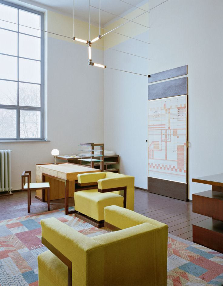 Directors office designed by walter gropius interior - Lloyds architecture planning interiors ...