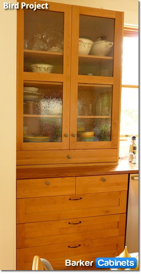 Shaker Alder Rta Cabinets For Upper Portion Of The Butlers Pantry Built In Dining Room