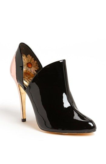Ted Baker London 'Alenk' Metal Cutout Almond Toe Bootie available at #Nordstrom