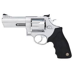 """Taurus Model 608 Revolver .357 Magnum 4"""" Ported Barrel 8 Rounds Black Rubber Grip Matte Stainless Steel Finish - my new baby!!! <3"""