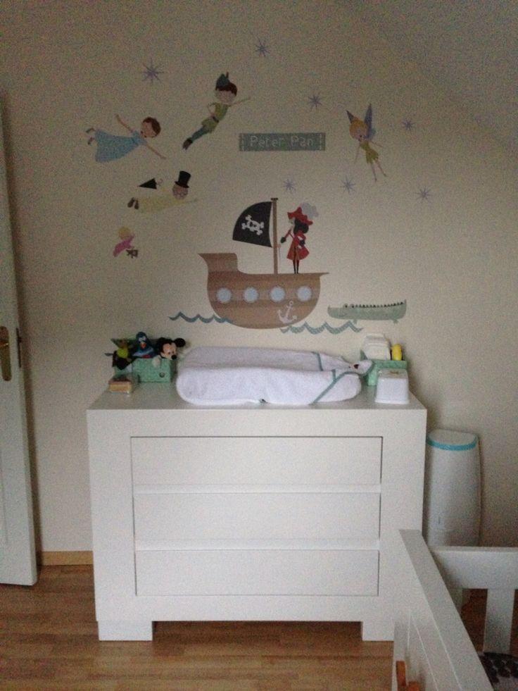 Babykamer Peter Pan/kleine piraat