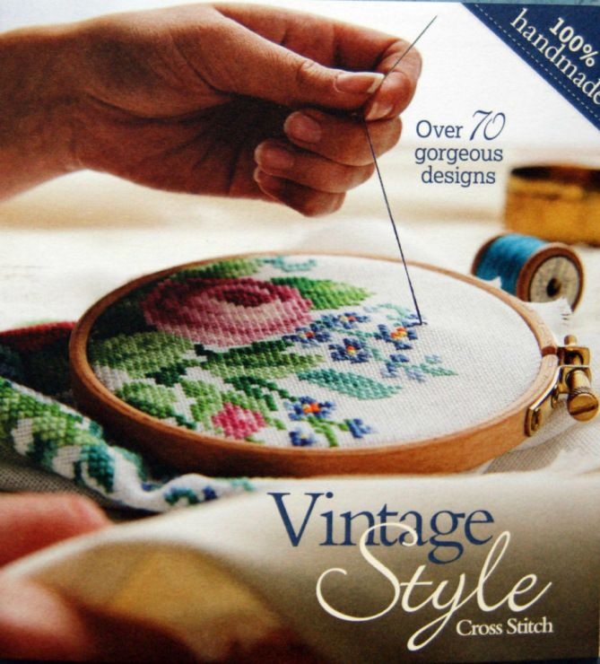 Gallery.ru / Фото #1 - Vintage Style Cross Stitch - simplehard... FREE BOOK AND PATTERNS!