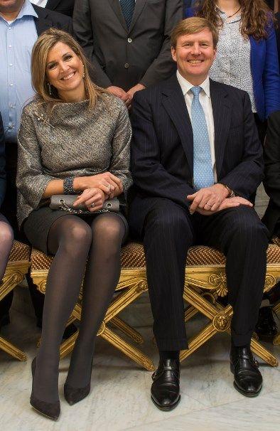 Nieuwe foto van koningin Máxima en haar hofdames + grootmeesteres | ModekoninginMaxima.nl