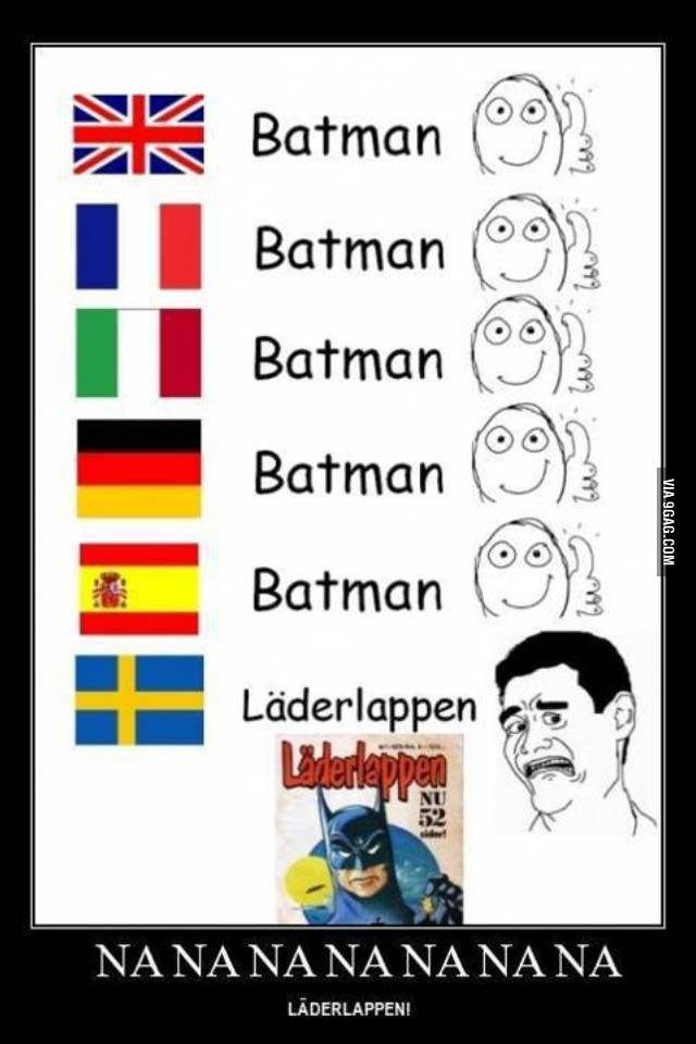 Seriously Sweden?
