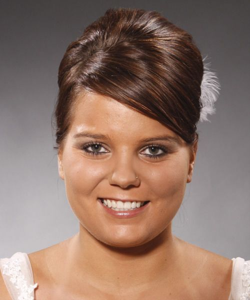 Updo Long Straight Formal Hairstyle best