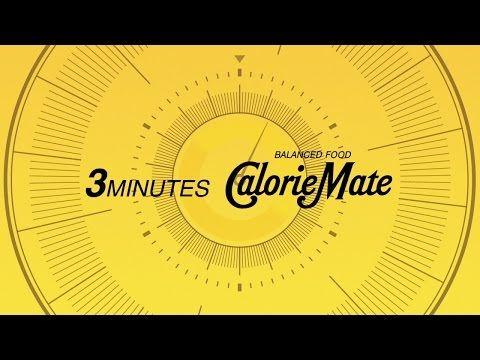 カロリーメイトWeb Movie|3minutes Calorie Mate | https://youtu.be/yGSMdX_Xt5Y