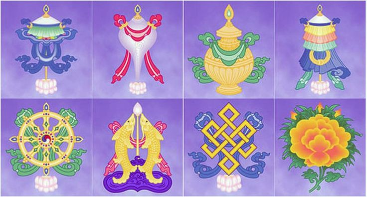 символы буддизма