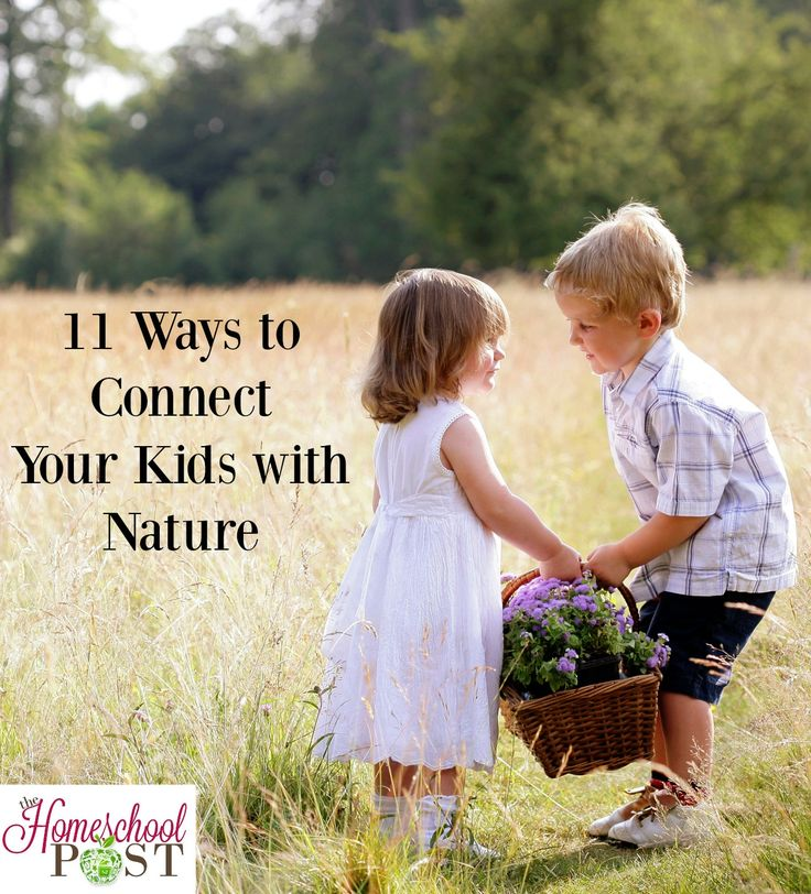 Homeschooling isn't limited to just 1 room in your house. Here are 11 Ways to Connect Your Child to Nature and help them develop an appreciation for it while learning. Charlotte Mason influenced homeschooling. hsbapost.com