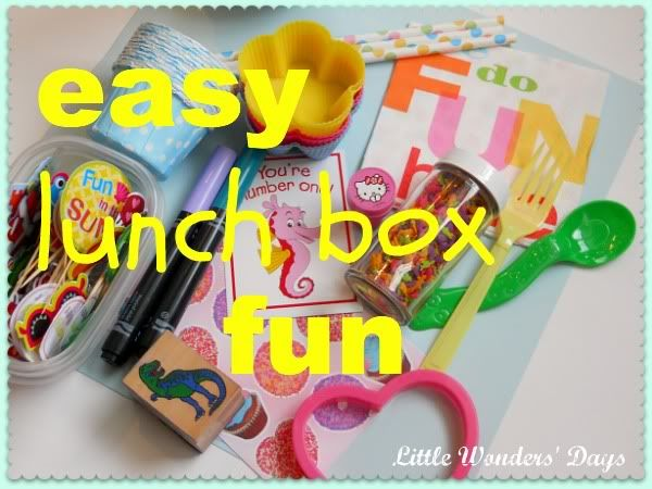 lunch box ideas for kids from Little Wonders' Days