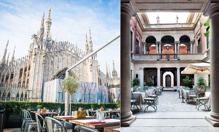 GUIDE: De 7 trendigaste restaurangerna i modestaden Milano http://mariannelle.com