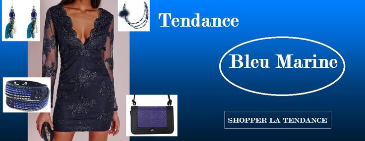La mode en bleu j'adore! Voici quelques idées d'accessoires.