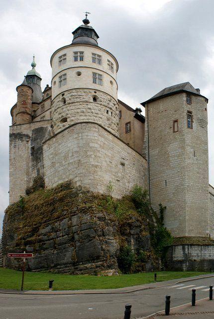 Montbèliard - chateau, France   Flickr - Photo by Hellebardius