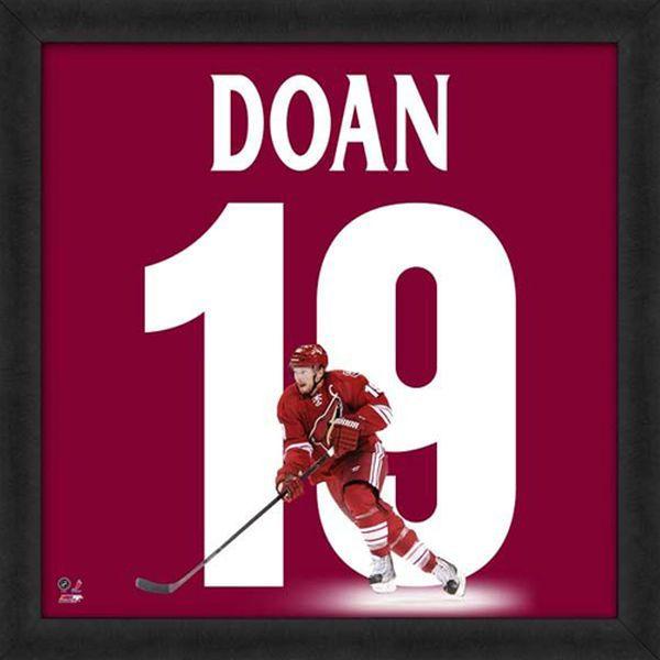 "Shane Doan Phoenix Coyotes Players 20"" x 20"" Uniframe - $74.99"