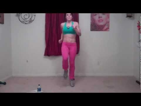 15 Minute Hight Intensity Cardio Home Workout. HIIT. No equipment. Free.  www.BenderFitness.com