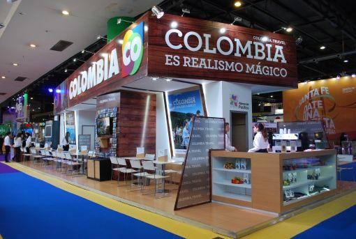 Diseño de stands para ferias internacionales – Colombia – FIT – RMB Design Solutions