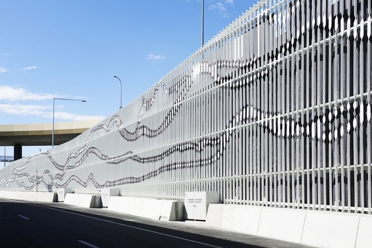 A facade pattern created by mapping movements of urban environments | Inspirationist
