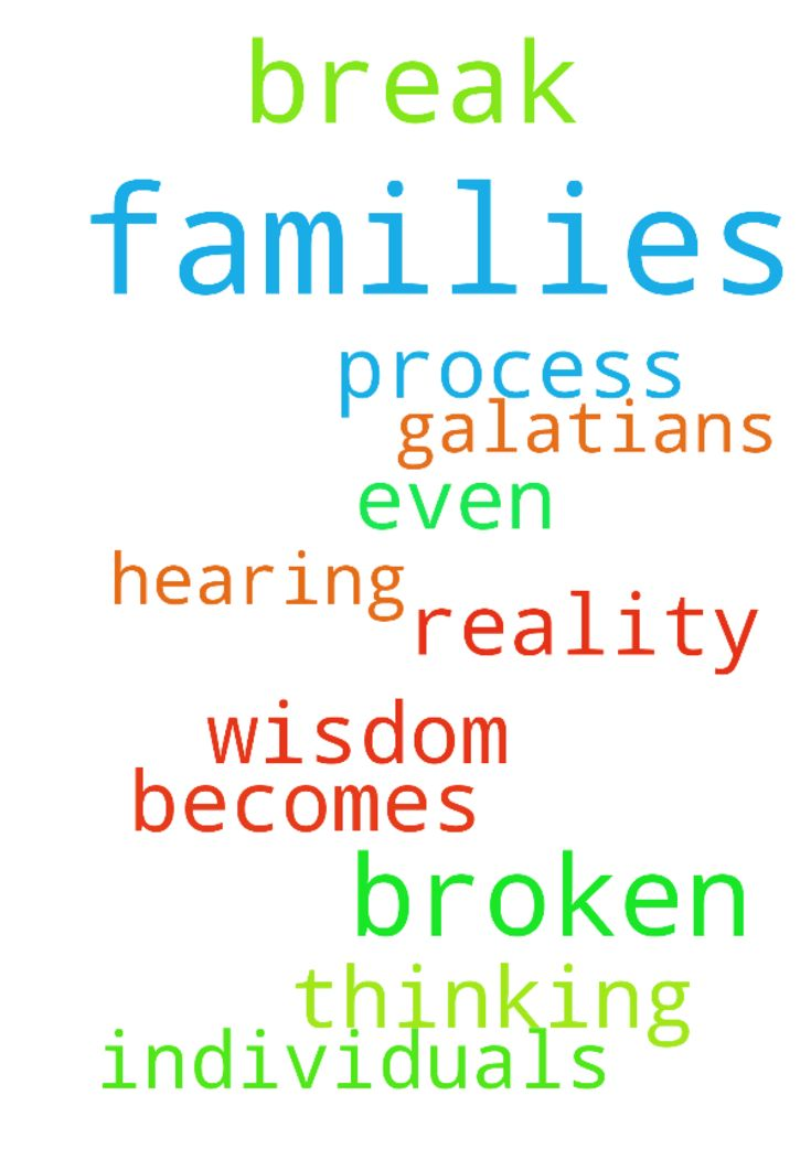 Prayers for broken families, families in - Prayers for broken families, families in the process of a break up , and for the individuals who are even thinking of a break up before it becomes a reality. Galatians 5 1618 Thank you father for your wisdom, and for hearing our prayers, in Jesus name, Amen Posted at: https://prayerrequest.com/t/C4s #pray #prayer #request #prayerrequest