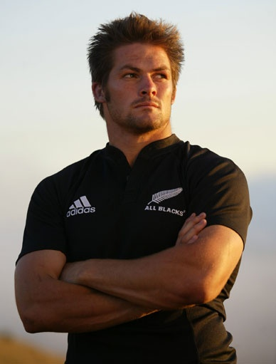 The very fine-looking Richie McCaw, champion New Zealand All Blacks captain. One of the all time greats