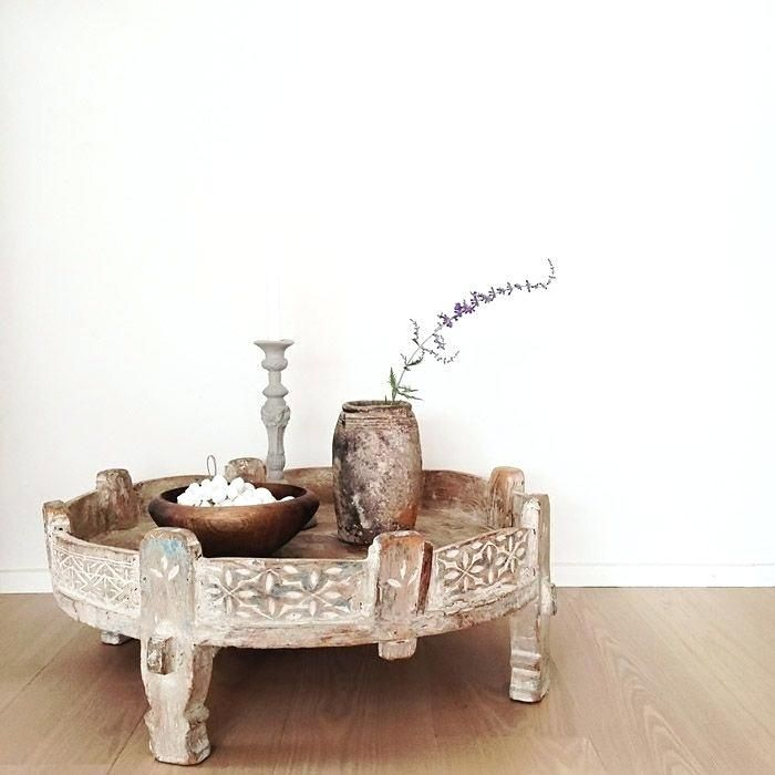 Moroccan Wood Coffee Table Grinder Table Moroccan Carved Wood Coffee Table Balinese Decor Indian Decor Indian Coffee Table