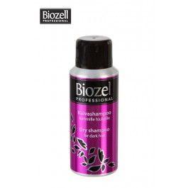 Biozell Professional kuivashampoo tummille hiuksille, 100 ml,