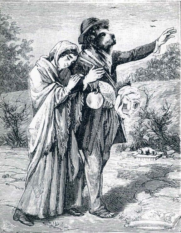 "Illustration to ""A Week of Kindness"" - Макс Эрнст"