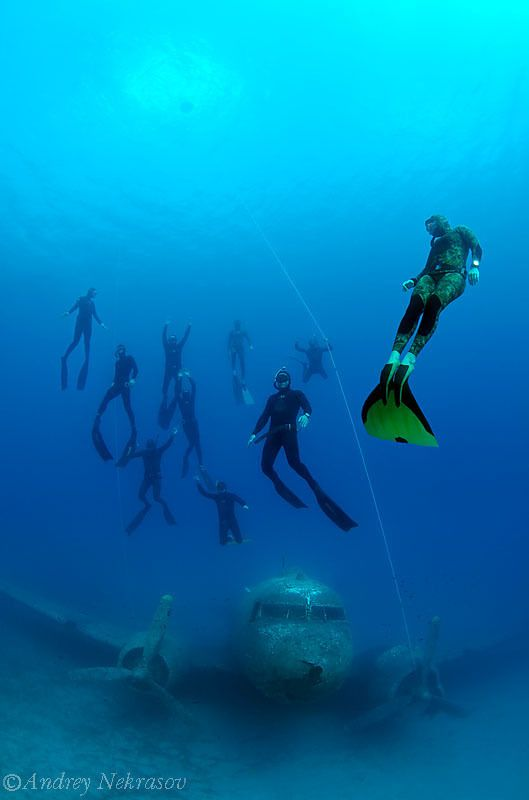 Freediving in Kas, Turkey