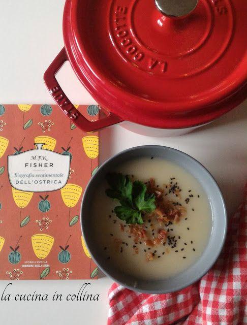 la cucina in collina: zuppa di topinambur