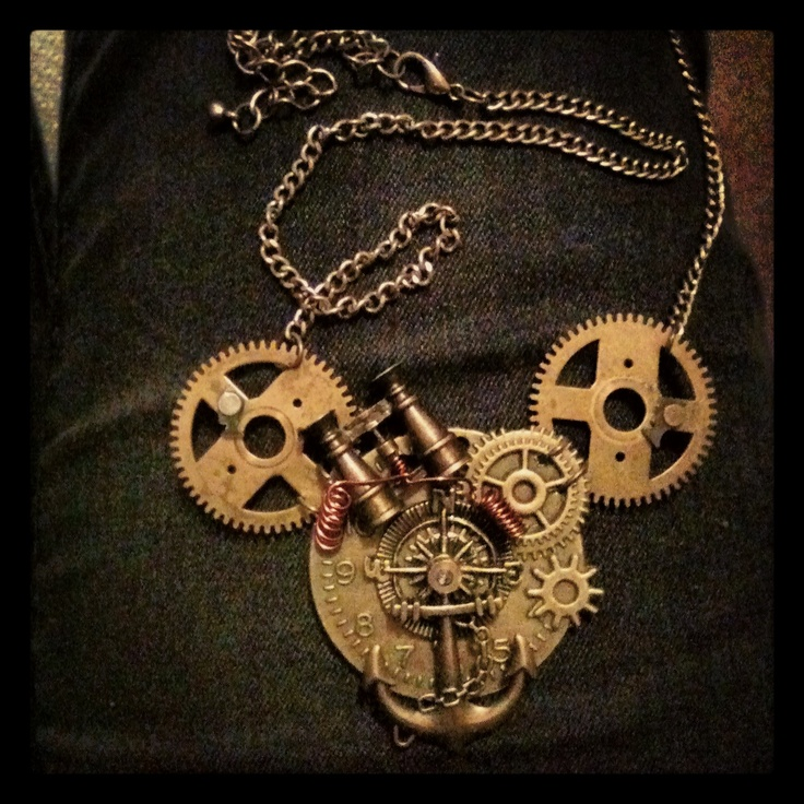 my new steampunk necklace