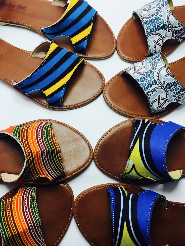 Brighten up any casual outfit with a bright sandal, headscarf or neck-piece, together, in pairs or individual depending on your taste.