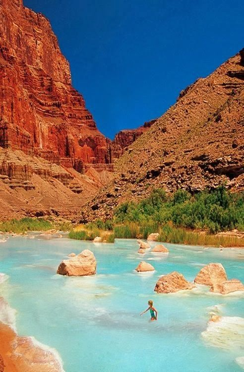 Little Colorado River >>> I want to go swimming here!!