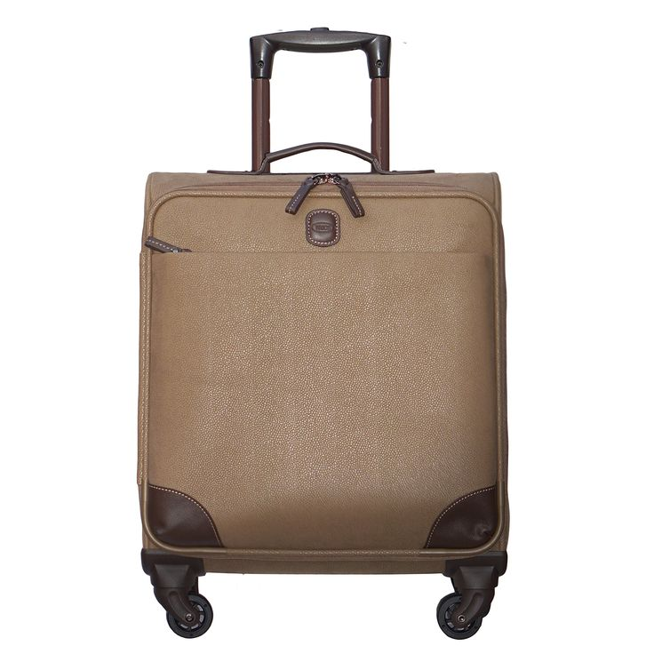 Bric's Mylife 20 Wide Body Carry on Spinner, Taupe