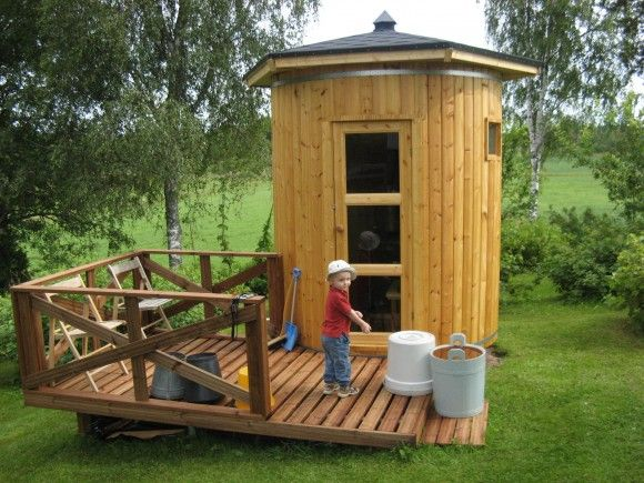 1326 best images about sauna benches on pinterest steam for Portable garden room