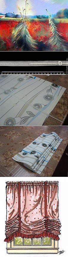 Шьем римскую штору - Ярмарка Мастеров - ручная работа, handmade