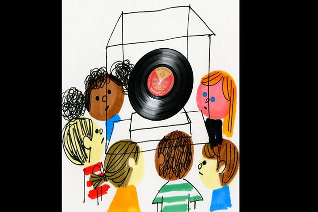 What is Music? by Christian Robinson. Animated short documents children's understanding of music.