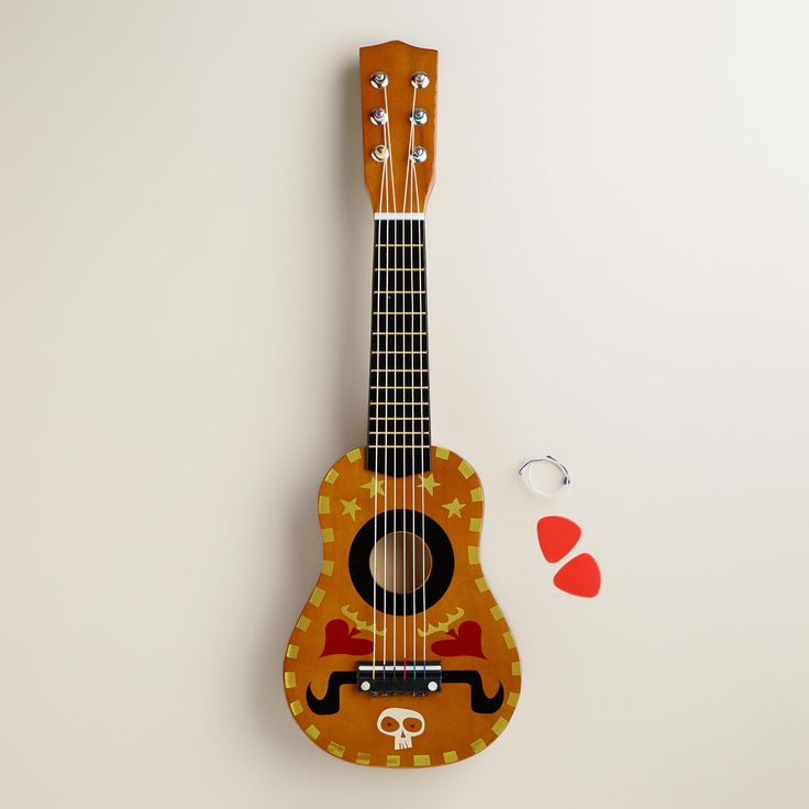 Celebrate the release of the upcoming film, The Book of Life (in theaters 10/17), and shop Cost Plus World Market's exclusive Book of Life Toys! #bookoflife. Book of Life Guitar   World Market